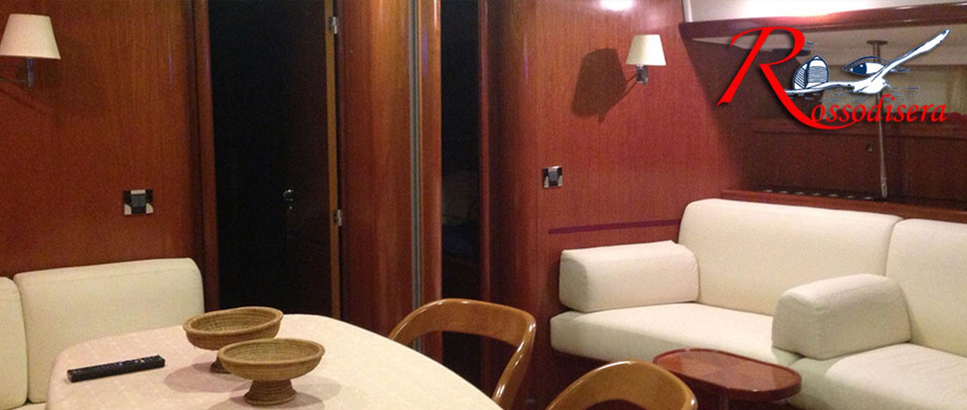 Rossodisera - sailboat - noleggio barca a vela - charter napoli beneteau57